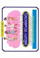 "Naughty Stewardesses Film - 11"" x 17"""