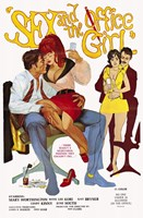 """Sex and the Office Girl - 11"""" x 17"""""""