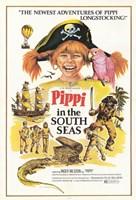 "Pippi in the South Seas - 11"" x 17"""