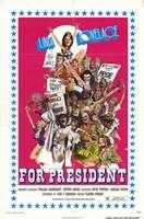 """Linda Lovelace for President - 11"""" x 17"""""""