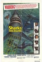 "Sharks Treasure - 11"" x 17"""