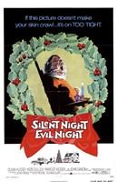 "Silent Night Evil Night - 11"" x 17"""