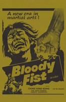 "Bloody Fist - 11"" x 17"""