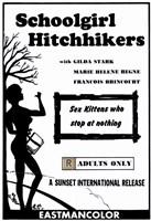 """Schoolgirl Hitchhikers - 11"""" x 17"""""""
