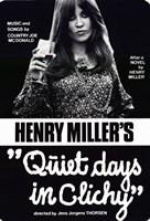 """Quiet Days in Clichy - 11"""" x 17"""""""