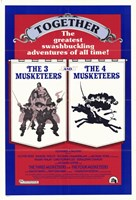 """Three Musketeers/Four Musketeers - 11"""" x 17"""", FulcrumGallery.com brand"""