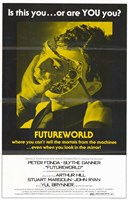 "Futureworld Movie - 11"" x 17"""