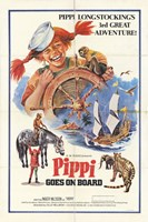 """Pippi Goes on Board - 11"""" x 17"""""""