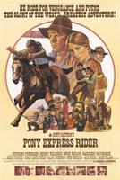 "Pony Express Rider - 11"" x 17"""