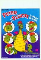 """Pete's Dragon French - 11"""" x 17"""""""