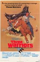 """Three Warriors - 11"""" x 17"""" - $15.49"""