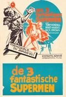 "Three Fantastic Supermen - 11"" x 17"", FulcrumGallery.com brand"
