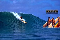 "Big Wednesday Surf's Up Scene - 17"" x 11"""