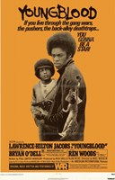 """Youngblood Lawrence-HIlton Jacobs - 11"""" x 17"""""""