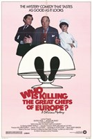 """Who is Killing the Great Chefs of Europe? - 11"""" x 17"""""""