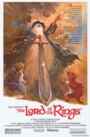 Lord of the Rings, animated - style A Fine Art Print