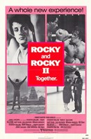 Rocky 2 & Rocky Together Fine Art Print
