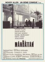 "Manhattan - black and white - 11"" x 17"""