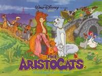 "Aristocats Disney Film - 17"" x 11"""