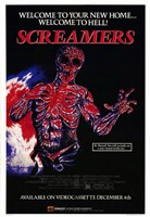 """Screamers - Welcome to Hell - 11"""" x 17"""""""