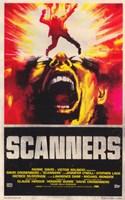 "Scanners - fire - 11"" x 17"", FulcrumGallery.com brand"