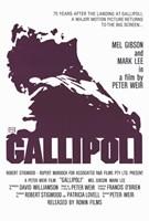 "Gallipoli - purple - 11"" x 17"""