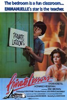"Private Lessons, 1981, 1981 - 11"" x 17"""
