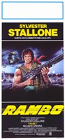 Rambo: First Blood Stallone with Automatic Rifle Fine Art Print