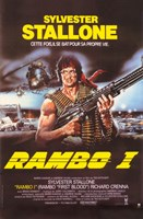Rambo I: First Blood with Stallone Fine Art Print