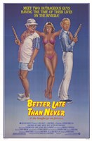 """Better Late Than Never - 11"""" x 17"""", FulcrumGallery.com brand"""