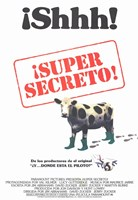 "Top Secret - Spanish movie poster - 11"" x 17"""