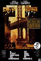 """Once Upon a Time in America Leone & DeNiro - 11"""" x 17"""""""