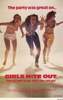 """Girls Nite Out - 11"""" x 17"""""""