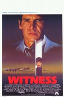 """Witness The Film Harrison Ford - 11"""" x 17"""""""