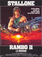 Rambo: First Blood Part 2 Fine Art Print