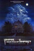 "Fright Night - dark house - 11"" x 17"""