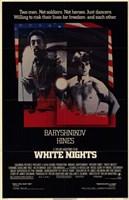 "White Nights - black cover - 11"" x 17"""