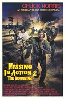"""Missing in Action 2: The Beginning - 11"""" x 17"""""""