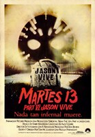 Friday the 13th Part 6 Jason Lives Fine Art Print
