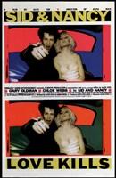 """Sid and Nancy - love kills - 11"""" x 17"""""""