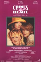 """Crimes of the Heart Sissy Spacek - 11"""" x 17"""" - $15.49"""