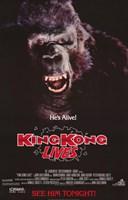 "King Kong Lives 2 - 11"" x 17"" - $15.49"