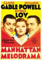 "Manhattan Melodrama Clark Gable - 11"" x 17"""