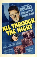 "All Through the Night Bogart - 11"" x 17"""