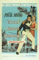 "Captain Horatio Hornblower - blue - 11"" x 17"""