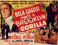 "Bela Lugosi Meets a Brooklyn Gorilla - 17"" x 11"""