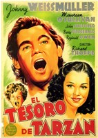 Tarzan's Secret Treasure, c.1941 (Spanish) - style A Wall Poster