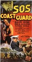 """S.O.S. Coast Guard - 11"""" x 17"""""""