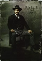 Deadwood Timothy Olyphant as Seth Bullock Framed Print