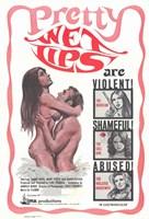 """Pretty Wet Lips - 11"""" x 17"""""""